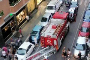 Tragedia al Quadraro, incendio in un appartamento: morta un'anziana