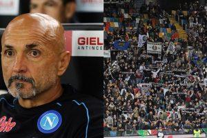 Udinese-Napoli: cori e insulti a Spalletti, la reazione è esemplare
