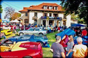Casa Belvedere ospiterà la decima edizione di Festa & Motori D'Italia il 23 e 24 ottobre nei pittoreschi giardini del Grymes Hill Palace