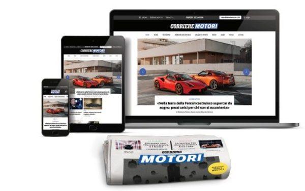 Corriere Motori lancia nuovo canale e rinnova il mensile
