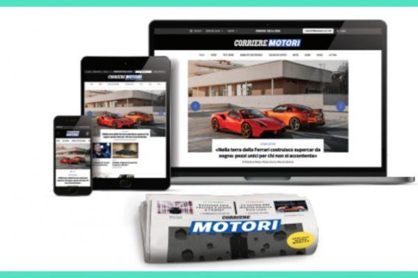Corriere Motori rinnova grafica e contenuti e debutta online con un canale digitale