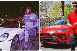 Juventus-Roma, la sfida dei garage: Kean in Porsche, Lamborghini per El Shaarawy