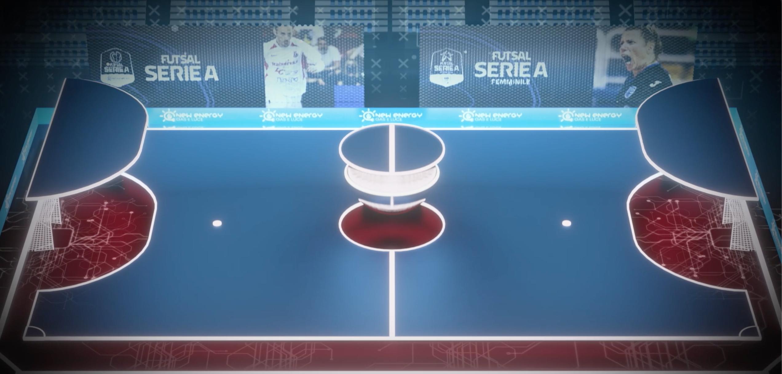 L'Emilia-Romagna Arena e Sky Sport: il futsal sta tornando