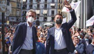 Napoli, la giunta del neoeletto Manfredi: mix di tecnici e politici