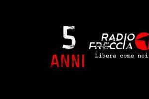 Radiofreccia compie 5 anni