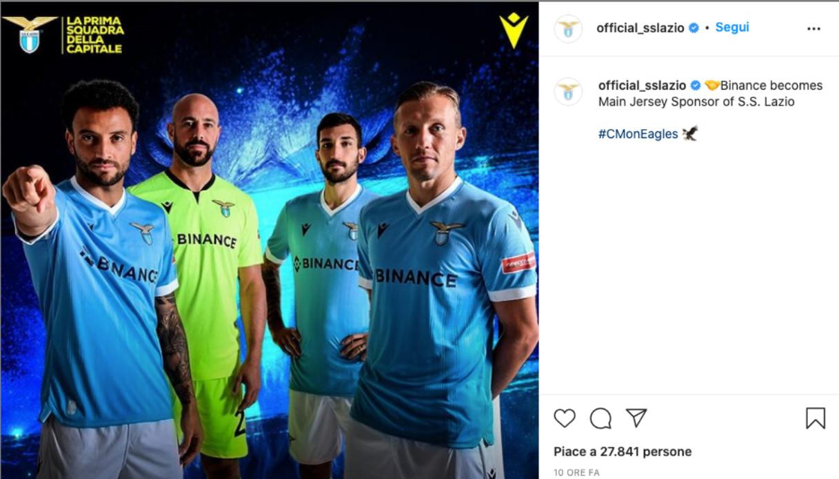 Svolta Lazio, arriva il nuovo sponsor. Cifre da record: l'annuncio